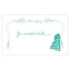 Once Upon A Time Table Sign Card