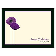 Romantic Elegance Note Card