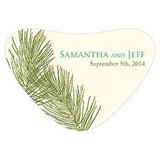 Evergreen Heart Container Sticker