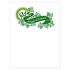 Luck Of The Irish Note Card