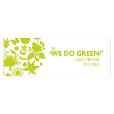 """We Do Green"" Tag"