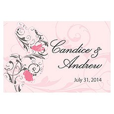 Classic Orchid Large Rectangular Tag