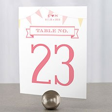 Homespun Charm Table Number