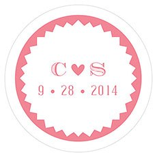 Homespun Charm Small Sticker