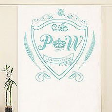 Regal Monogram Personalized Photo Backdrop