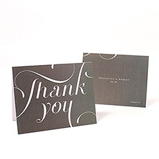 Expressions Thank You Card