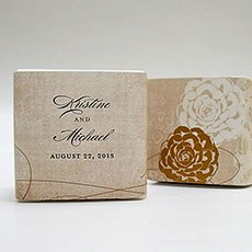 Vintage Lace Favor Box Wrap