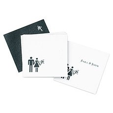 Bride & Groom Favor / Place Cards