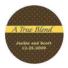 """A True Blend"" Stickers"