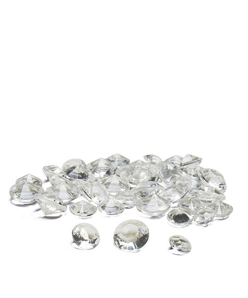 Acrylic Diamonds for sprinkling on tables