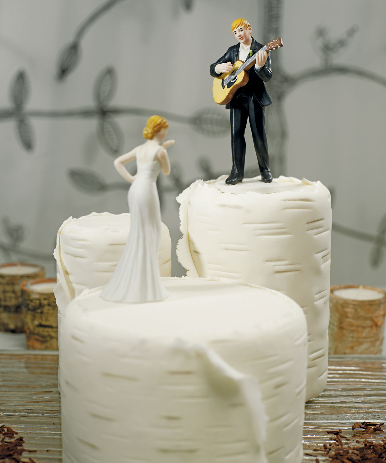 love serenade guitar playing groom wedding cake topper figurine ebay. Black Bedroom Furniture Sets. Home Design Ideas