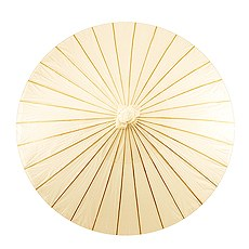 Paper Parasol with Bamboo Boning